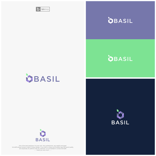 Disrupt The Consulting Space With An Exciting Logo For Basil Data