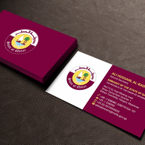Elegant and luxury business card design business card contest runner up design by design abc reheart Choice Image