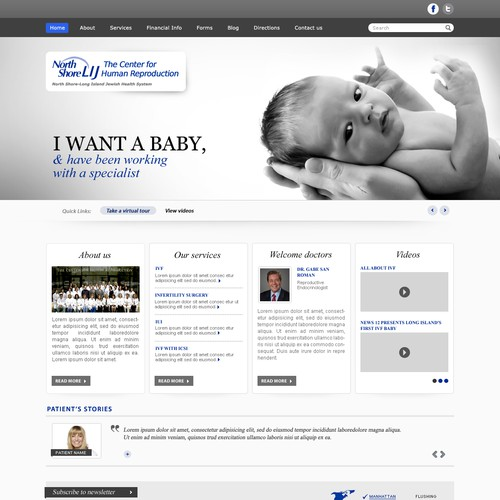 Runner-up design by Idyllic Web Concepts
