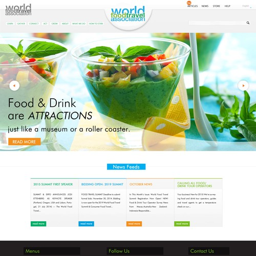 Runner-up design by Purna Web Design