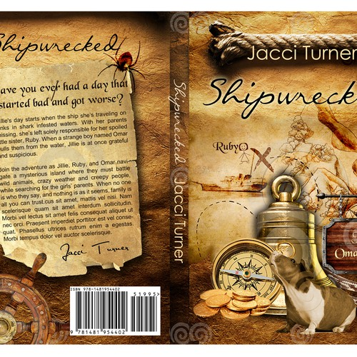Cover design for hottest new serial fiction outlet for schools Design by Banateanul