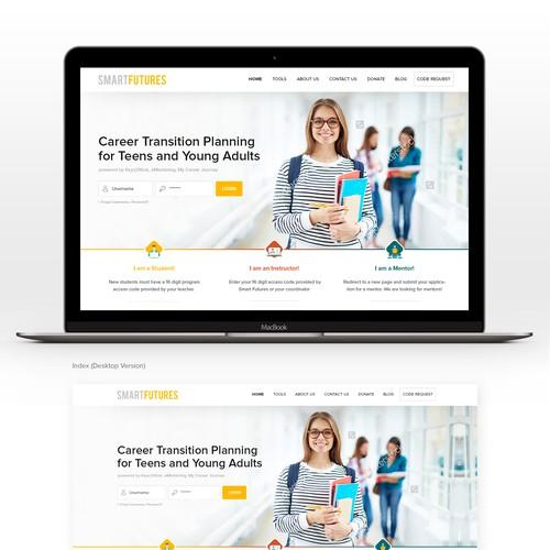 Zweitplatziertes Design von webDAE