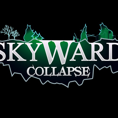 *** Logo for Skyward Collapse PC Game*** Design by Karlingermano