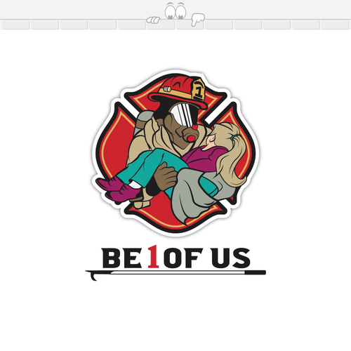 Powerful Logo To Inspire Locals To Be Volunteer Firefighter Logo Design Contest 99designs