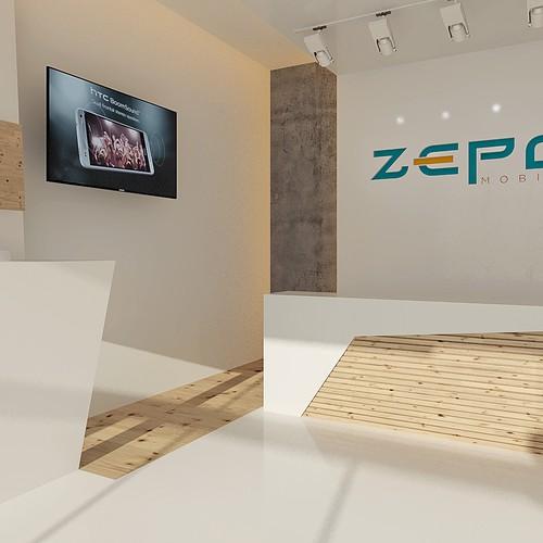 Phone shop design concept interior design other design for Interior design 99designs