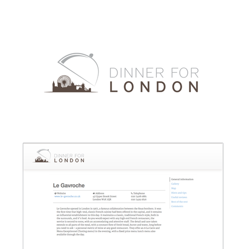 Ontwerp van finalist Louise designD