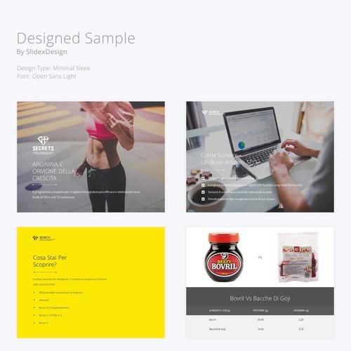 Diseño finalista de SlidexDesign