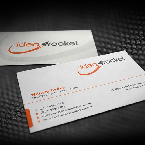 Create a business card for our animation studio business card contest runner up design by ivan colourmoves