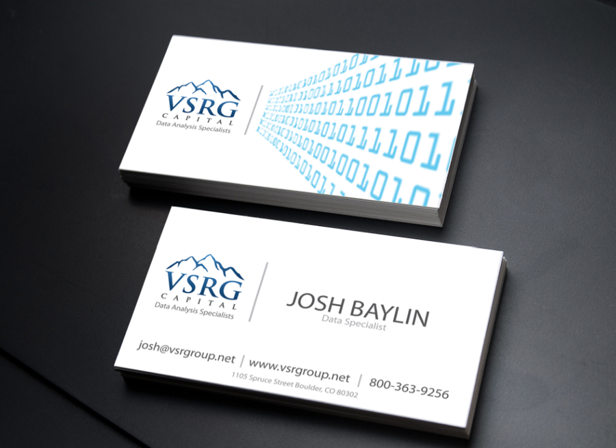 Data Analytics Company Needs Awesome New Business Cards