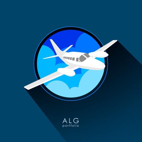 Diseño finalista de Alg Portfolio