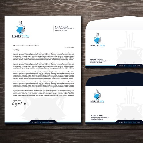 Creative Letterhead Envelope Designs