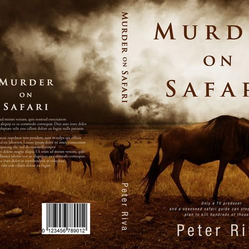 Book Cover Contest : Murder on safari book cover contest