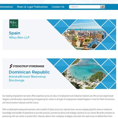 Design finalista por Web Helper