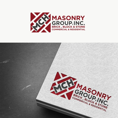 Modern masonry company looking for unique designs | Logo ...