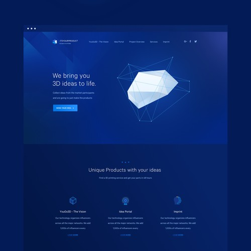 Runner-up design by Max Iver