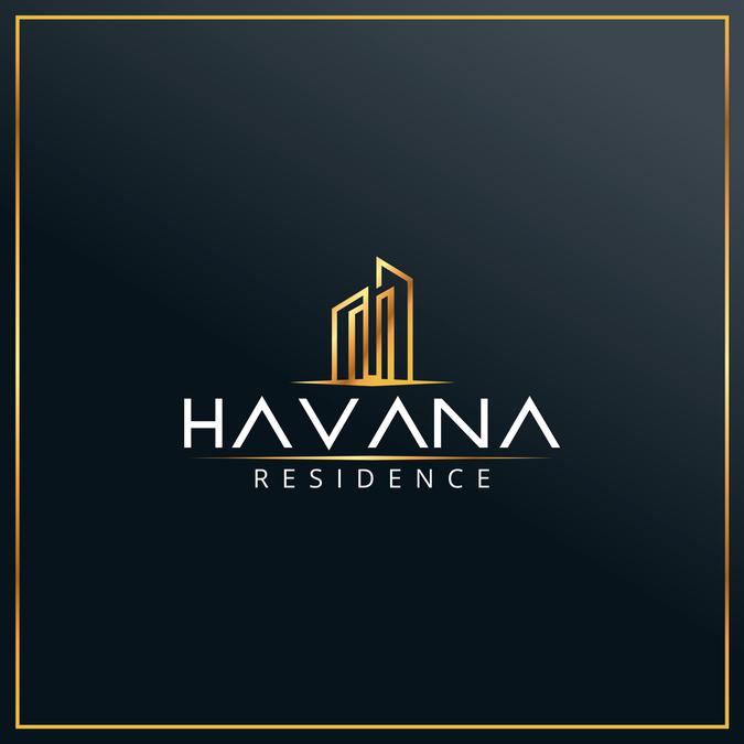 Elegant Real Estate Logo:  Logo Design For Luxury City Centre Apartment Building