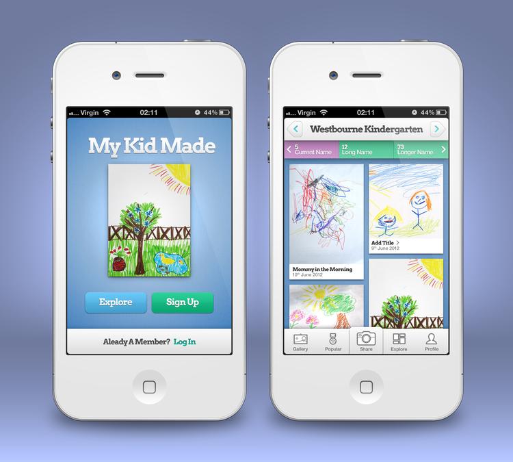 Diseño ganador de CalmSpark App Design