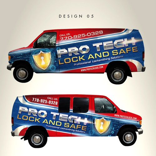 Runner-up design by RAFDdesign