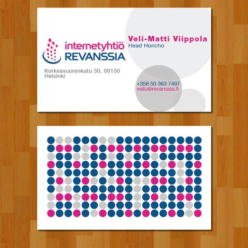 Runner-up design by Mihaela R
