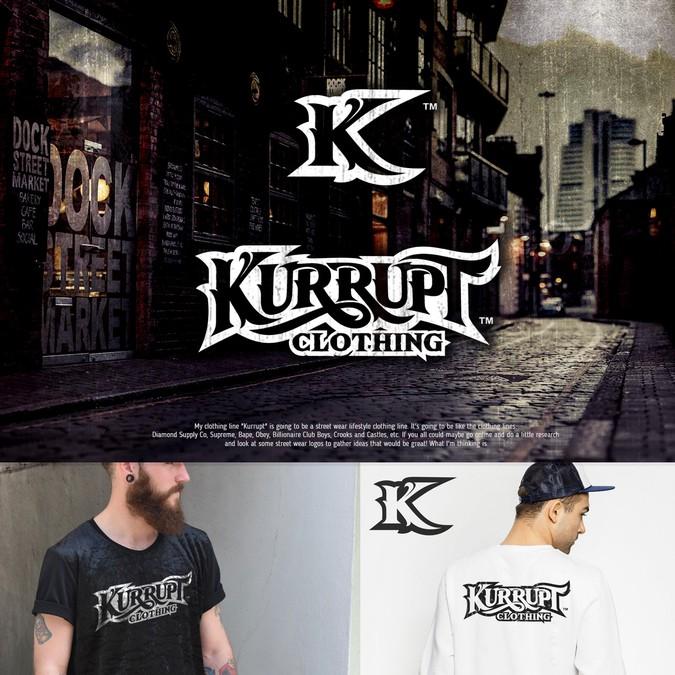 Kurrupt Clothing - Need an amazing logo! | Logo design contest