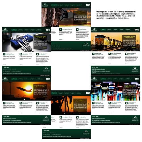 Diseño finalista de codewrox