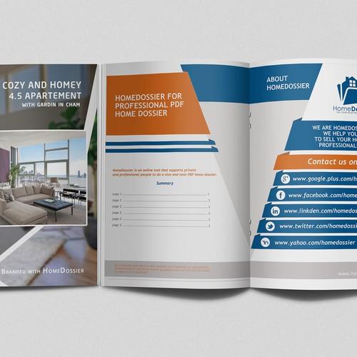 PDF Design for a HomeDossier | Brochure contest