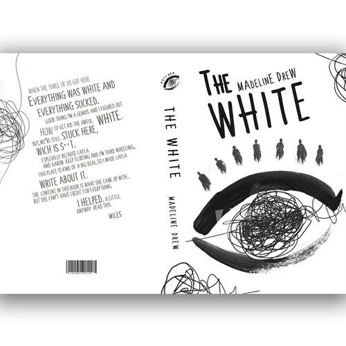 Design a minimal fiction cover that has a pop of colour and a sneak of humour! Ontwerp door Alex Albornoz