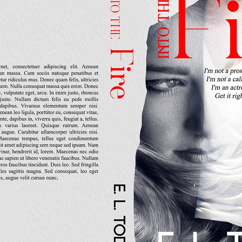 Create a sexy book cover for romance author Design by Andrei Bat