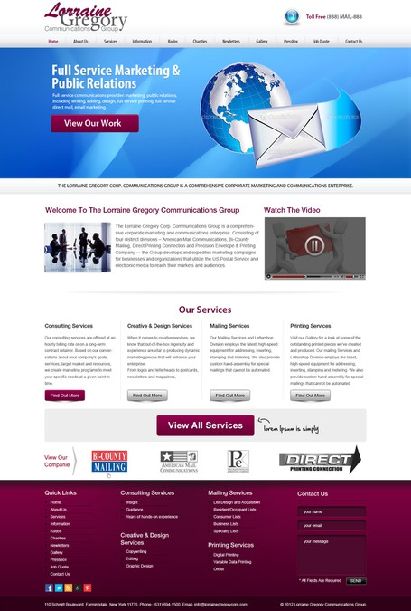 Design vencedor por WebXpert