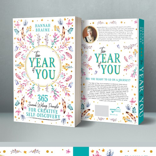 Design a book cover for a book of 365 journaling prompts Ontwerp door The Odd Seed