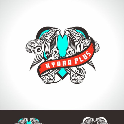 Runner-up design by yuliART