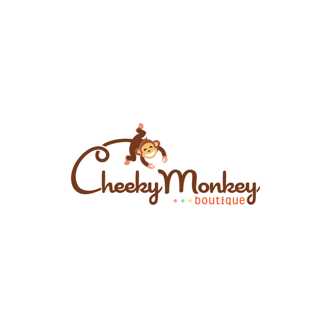 design a quotcheekyquot logo for cheeky monkey boutique logo