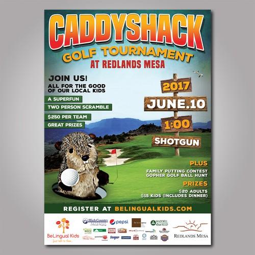 20++ Caddyshack golf tournament 2017 information