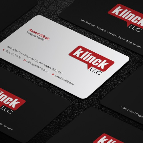 Klinck llc business card business card contest entries from this contest reheart Choice Image