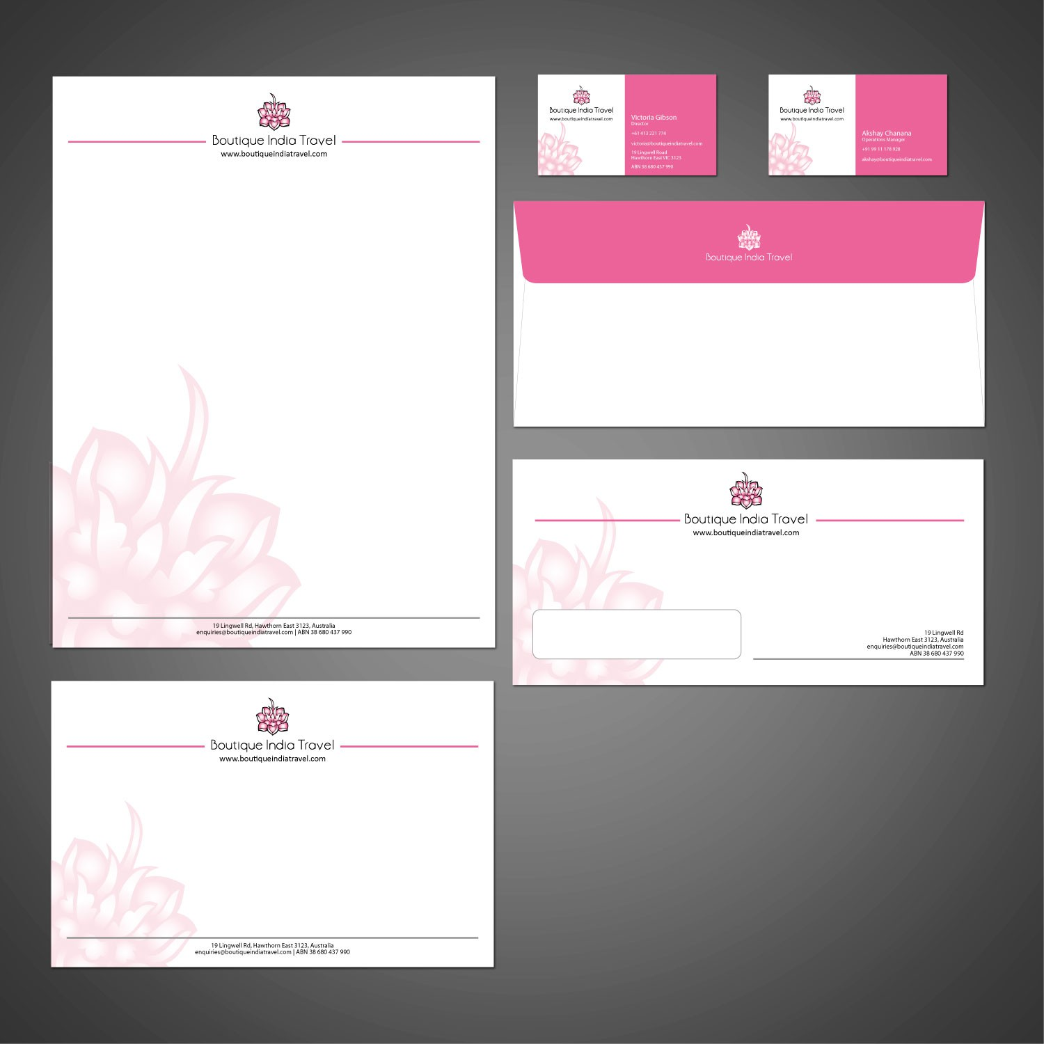 Stationery Design by fullchandu