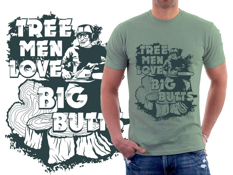 Create New T Shirt Designs For Tree Workers Concours