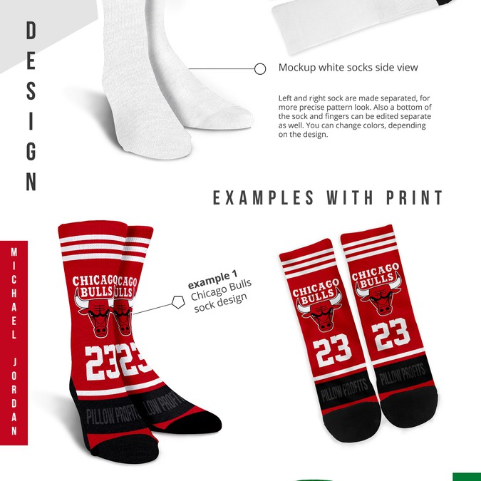 CREATE STUNNING SOCK MOCK UPS** | Product packaging contest