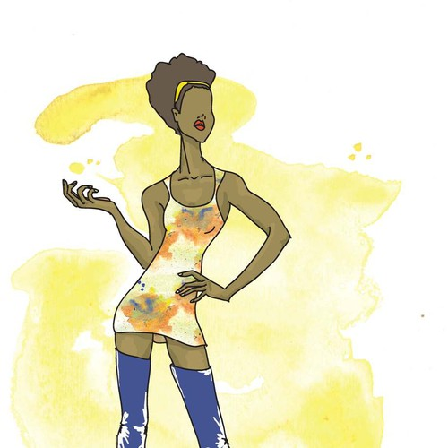 Runner-up design by Vicky Jean-Louis