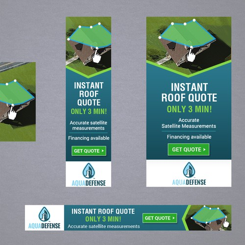 Guaranteed Winner Banner Ads Instant Roof Quote 3min