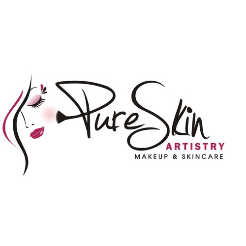 Modern Sleek Logo For Makeup Artistry