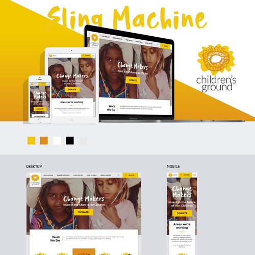 Diseño finalista de Sling Machine