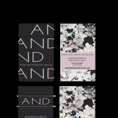 Create a beautiful designer business card Design by Sunny EartH