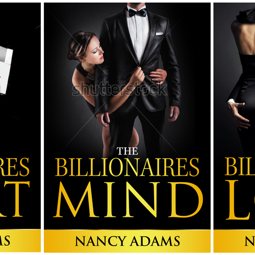 Create Appealing Romance Cover for New Billionaire Romance Trilogy! Design by Deja vvu