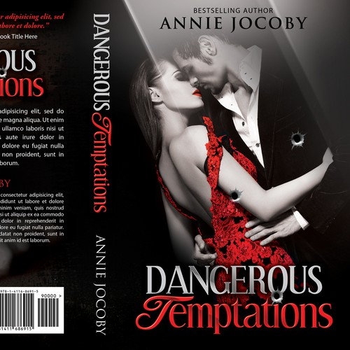 create an ebook cover and regular book cover for annie jocoby Design by Sherwin Soy