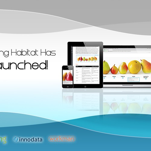 Runner-up design by dotcomsourcing.com