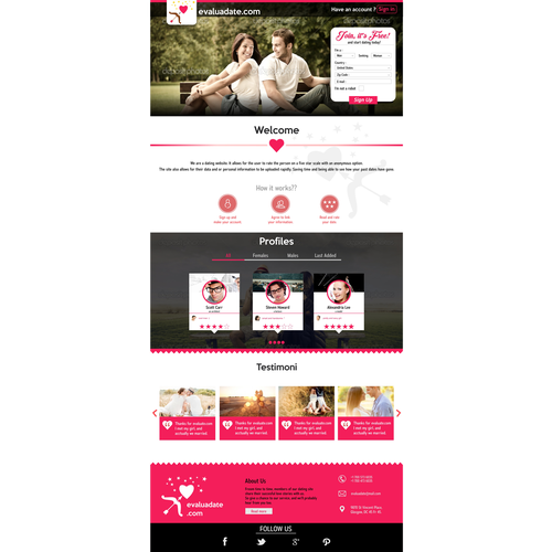 Cupido dating site par søker par