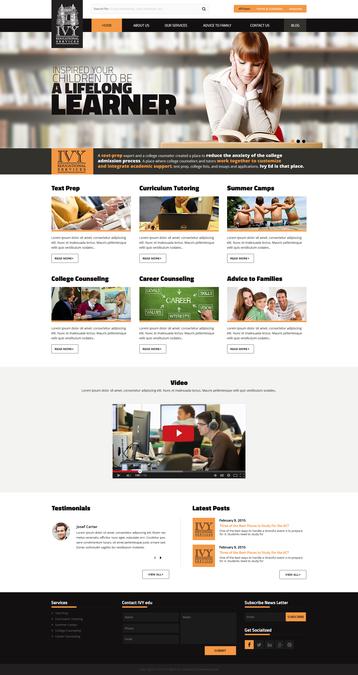 Winning design by WebPlanex