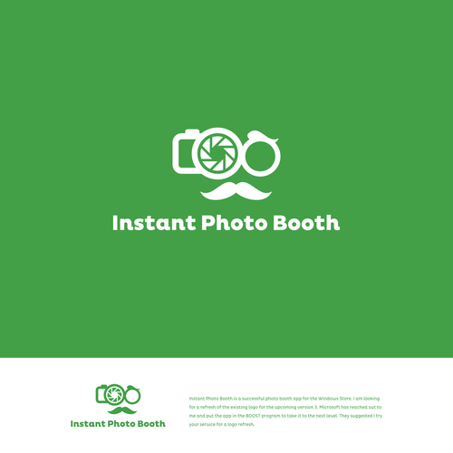 Redeisgn The Instant Photo Man Logo For The Instant Photo