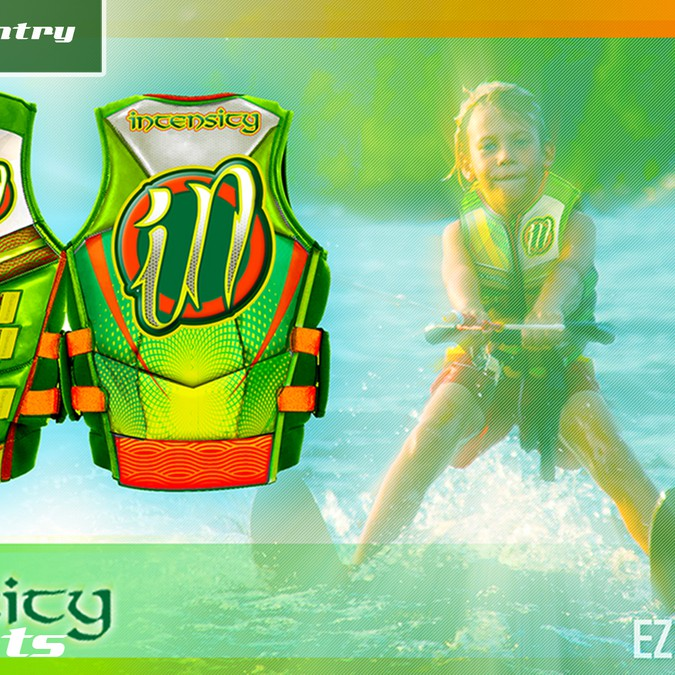 Water Ski Vest Design For Intensity Sports Clothing Or