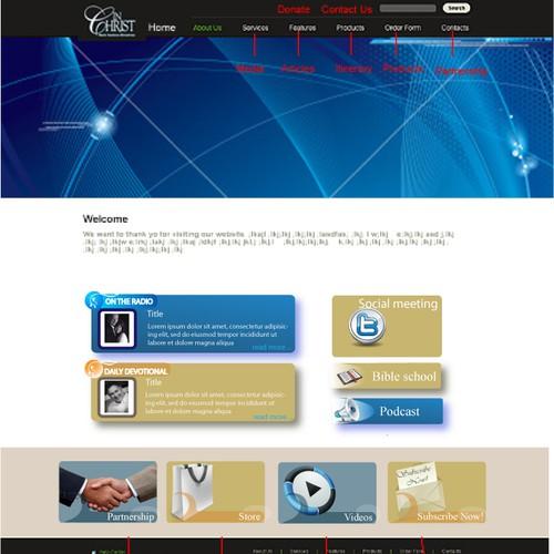 Design finalista por Eds Designs